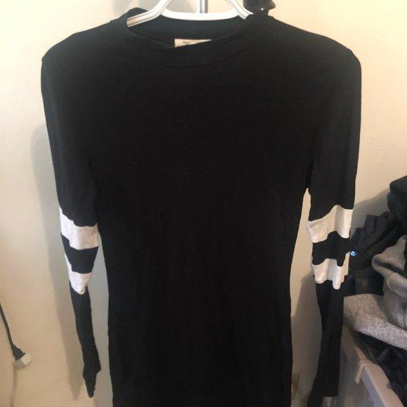 Fashion Nova Mini Black Dress (small)